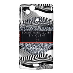Sometimes Quiet Is Violent Twenty One Pilots The Meaning Of Blurryface Album Sony Xperia Arc