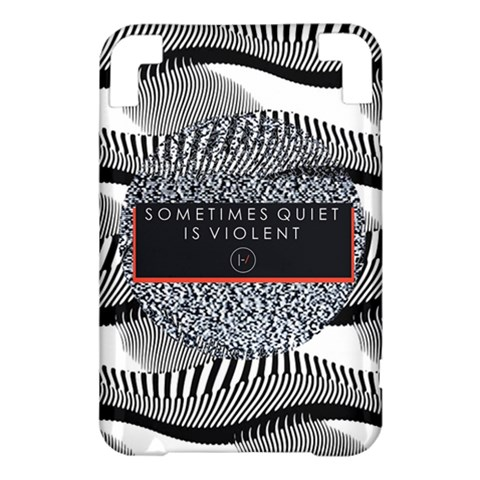 Sometimes Quiet Is Violent Twenty One Pilots The Meaning Of Blurryface Album Kindle 3 Keyboard 3G
