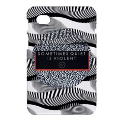 Sometimes Quiet Is Violent Twenty One Pilots The Meaning Of Blurryface Album Samsung Galaxy Tab 7  P1000 Hardshell Case