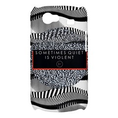 Sometimes Quiet Is Violent Twenty One Pilots The Meaning Of Blurryface Album Samsung Galaxy Nexus S i9020 Hardshell Case