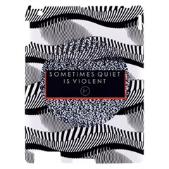 Sometimes Quiet Is Violent Twenty One Pilots The Meaning Of Blurryface Album Apple iPad 2 Hardshell Case
