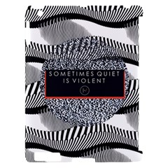 Sometimes Quiet Is Violent Twenty One Pilots The Meaning Of Blurryface Album Apple iPad 2 Hardshell Case (Compatible with Smart Cover)