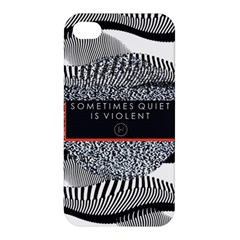 Sometimes Quiet Is Violent Twenty One Pilots The Meaning Of Blurryface Album Apple iPhone 4/4S Premium Hardshell Case