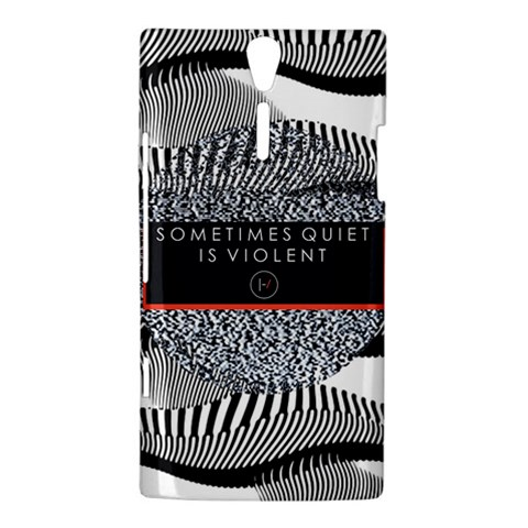 Sometimes Quiet Is Violent Twenty One Pilots The Meaning Of Blurryface Album Sony Xperia S