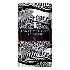 Sometimes Quiet Is Violent Twenty One Pilots The Meaning Of Blurryface Album Sony Xperia ion