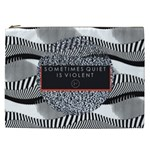 Sometimes Quiet Is Violent Twenty One Pilots The Meaning Of Blurryface Album Cosmetic Bag (XXL)  Front