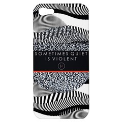 Sometimes Quiet Is Violent Twenty One Pilots The Meaning Of Blurryface Album Apple Iphone 5 Hardshell Case