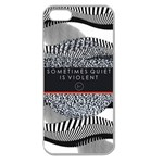 Sometimes Quiet Is Violent Twenty One Pilots The Meaning Of Blurryface Album Apple Seamless iPhone 5 Case (Clear) Front