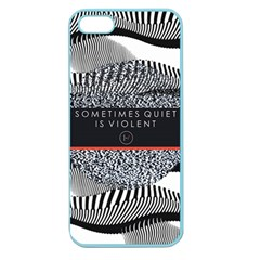 Sometimes Quiet Is Violent Twenty One Pilots The Meaning Of Blurryface Album Apple Seamless iPhone 5 Case (Color)