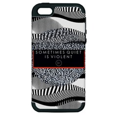 Sometimes Quiet Is Violent Twenty One Pilots The Meaning Of Blurryface Album Apple Iphone 5 Hardshell Case (pc+silicone)