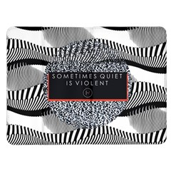 Sometimes Quiet Is Violent Twenty One Pilots The Meaning Of Blurryface Album Kindle Fire (1st Gen) Flip Case