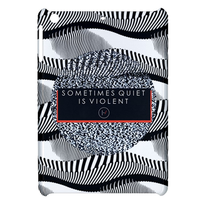 Sometimes Quiet Is Violent Twenty One Pilots The Meaning Of Blurryface Album Apple iPad Mini Hardshell Case