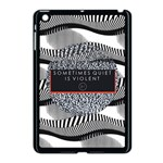 Sometimes Quiet Is Violent Twenty One Pilots The Meaning Of Blurryface Album Apple iPad Mini Case (Black) Front