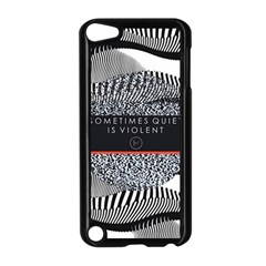 Sometimes Quiet Is Violent Twenty One Pilots The Meaning Of Blurryface Album Apple Ipod Touch 5 Case (black)