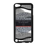 Sometimes Quiet Is Violent Twenty One Pilots The Meaning Of Blurryface Album Apple iPod Touch 5 Case (Black) Front
