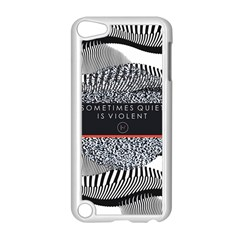 Sometimes Quiet Is Violent Twenty One Pilots The Meaning Of Blurryface Album Apple iPod Touch 5 Case (White)