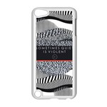 Sometimes Quiet Is Violent Twenty One Pilots The Meaning Of Blurryface Album Apple iPod Touch 5 Case (White) Front