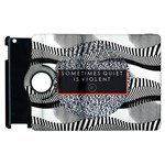 Sometimes Quiet Is Violent Twenty One Pilots The Meaning Of Blurryface Album Apple iPad 2 Flip 360 Case Front