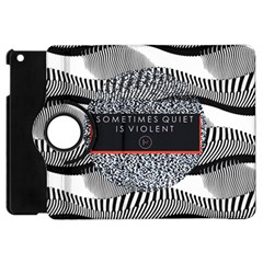 Sometimes Quiet Is Violent Twenty One Pilots The Meaning Of Blurryface Album Apple Ipad Mini Flip 360 Case