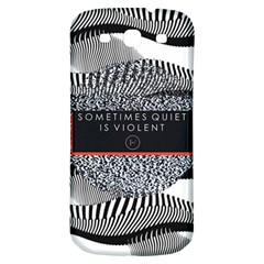 Sometimes Quiet Is Violent Twenty One Pilots The Meaning Of Blurryface Album Samsung Galaxy S3 S Iii Classic Hardshell Back Case