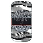 Sometimes Quiet Is Violent Twenty One Pilots The Meaning Of Blurryface Album Samsung Galaxy S3 S III Classic Hardshell Back Case Front