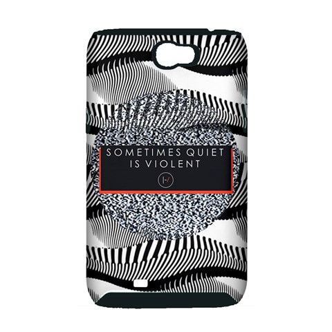 Sometimes Quiet Is Violent Twenty One Pilots The Meaning Of Blurryface Album Samsung Galaxy Note 2 Hardshell Case (PC+Silicone)