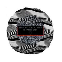 Sometimes Quiet Is Violent Twenty One Pilots The Meaning Of Blurryface Album Standard 15  Premium Round Cushions