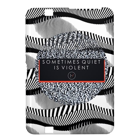 Sometimes Quiet Is Violent Twenty One Pilots The Meaning Of Blurryface Album Kindle Fire HD 8.9