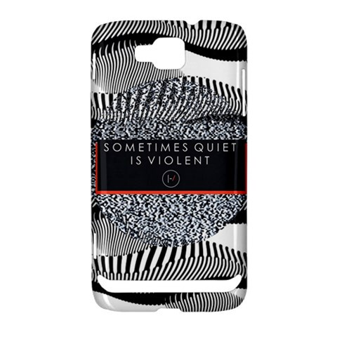 Sometimes Quiet Is Violent Twenty One Pilots The Meaning Of Blurryface Album Samsung Ativ S i8750 Hardshell Case