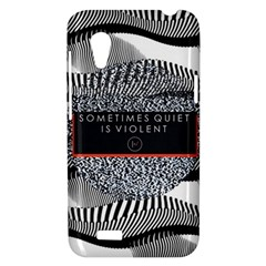 Sometimes Quiet Is Violent Twenty One Pilots The Meaning Of Blurryface Album HTC Desire VT (T328T) Hardshell Case