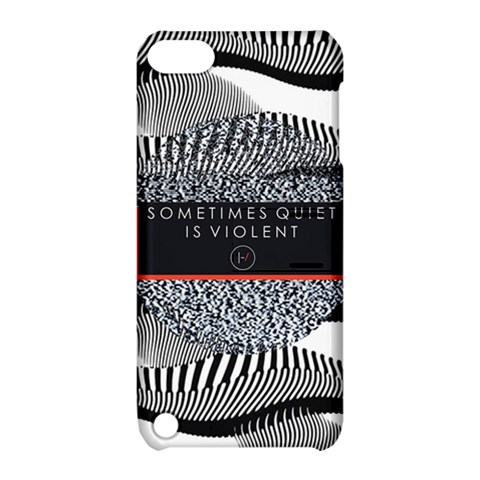 Sometimes Quiet Is Violent Twenty One Pilots The Meaning Of Blurryface Album Apple iPod Touch 5 Hardshell Case with Stand