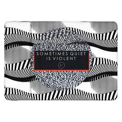 Sometimes Quiet Is Violent Twenty One Pilots The Meaning Of Blurryface Album Samsung Galaxy Tab 8 9  P7300 Flip Case