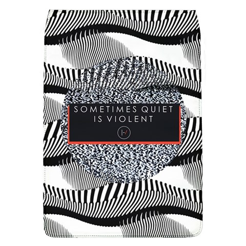 Sometimes Quiet Is Violent Twenty One Pilots The Meaning Of Blurryface Album Flap Covers (L)