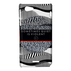 Sometimes Quiet Is Violent Twenty One Pilots The Meaning Of Blurryface Album Sony Xperia J