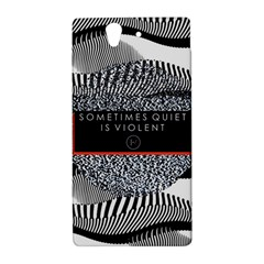 Sometimes Quiet Is Violent Twenty One Pilots The Meaning Of Blurryface Album Sony Xperia Z