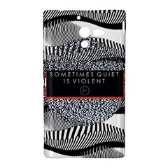 Sometimes Quiet Is Violent Twenty One Pilots The Meaning Of Blurryface Album Sony Xperia ZL (L35H)