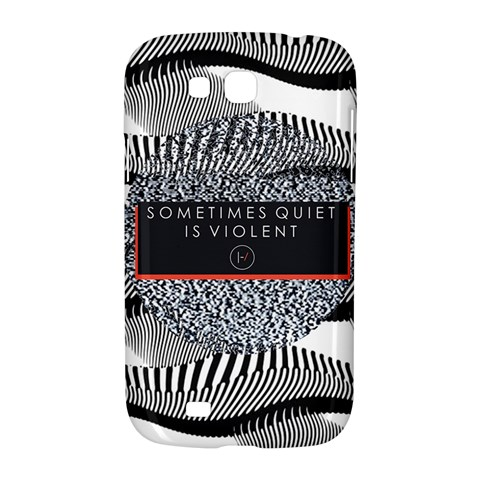 Sometimes Quiet Is Violent Twenty One Pilots The Meaning Of Blurryface Album Samsung Galaxy Grand GT-I9128 Hardshell Case