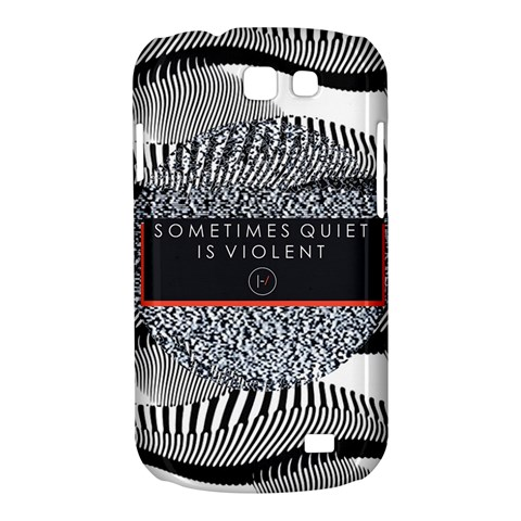 Sometimes Quiet Is Violent Twenty One Pilots The Meaning Of Blurryface Album Samsung Galaxy Express I8730 Hardshell Case