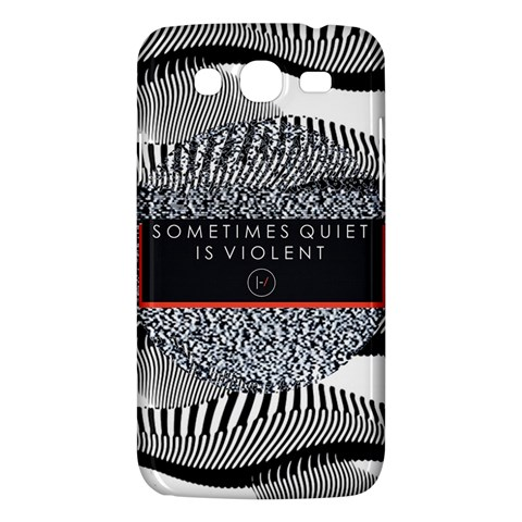 Sometimes Quiet Is Violent Twenty One Pilots The Meaning Of Blurryface Album Samsung Galaxy Mega 5.8 I9152 Hardshell Case