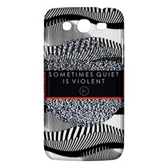 Sometimes Quiet Is Violent Twenty One Pilots The Meaning Of Blurryface Album Samsung Galaxy Mega 5 8 I9152 Hardshell Case