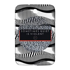 Sometimes Quiet Is Violent Twenty One Pilots The Meaning Of Blurryface Album Samsung Galaxy Note 8 0 N5100 Hardshell Case