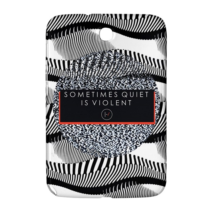 Sometimes Quiet Is Violent Twenty One Pilots The Meaning Of Blurryface Album Samsung Galaxy Note 8.0 N5100 Hardshell Case