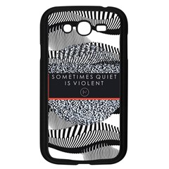 Sometimes Quiet Is Violent Twenty One Pilots The Meaning Of Blurryface Album Samsung Galaxy Grand Duos I9082 Case (black)
