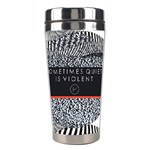 Sometimes Quiet Is Violent Twenty One Pilots The Meaning Of Blurryface Album Stainless Steel Travel Tumblers Center
