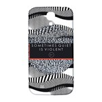 Sometimes Quiet Is Violent Twenty One Pilots The Meaning Of Blurryface Album Samsung Galaxy S4 I9500/I9505  Hardshell Back Case Front