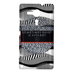 Sometimes Quiet Is Violent Twenty One Pilots The Meaning Of Blurryface Album Sony Xperia SP