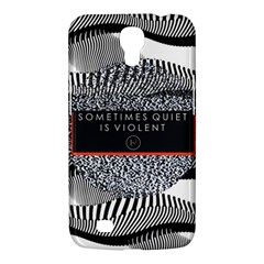 Sometimes Quiet Is Violent Twenty One Pilots The Meaning Of Blurryface Album Samsung Galaxy Mega 6.3  I9200 Hardshell Case