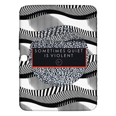 Sometimes Quiet Is Violent Twenty One Pilots The Meaning Of Blurryface Album Samsung Galaxy Tab 3 (10 1 ) P5200 Hardshell Case