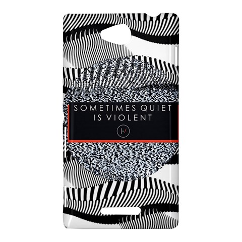 Sometimes Quiet Is Violent Twenty One Pilots The Meaning Of Blurryface Album Sony Xperia C (S39H)