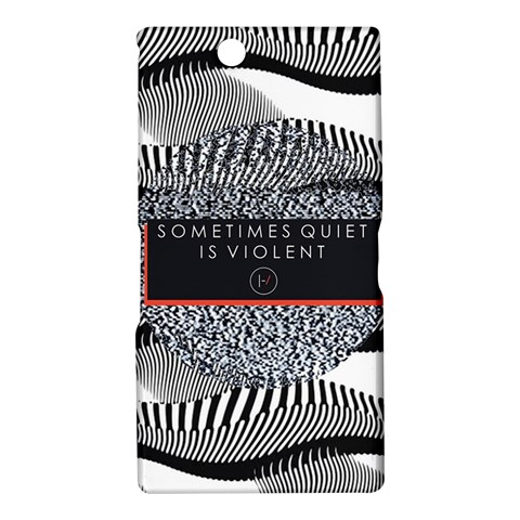 Sometimes Quiet Is Violent Twenty One Pilots The Meaning Of Blurryface Album Sony Xperia Z Ultra